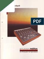 ReVox C279 Mischpult Ed0187 Small