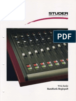 STUDER 916-Serie Rundfunk-Regiepult Ed1194 Small