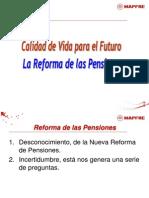 Pensiones 2011 ( Reforma) FEDETO - Juan Antonio Pinto