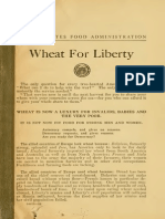 [1918] U.S. Food Administration - Wheat for Liberty