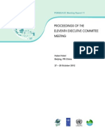 Proceedings of the Eleventh Executive Committee Meeting