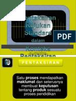 Konsep Standard Prestasi - Taklimat Sek Ren 2012