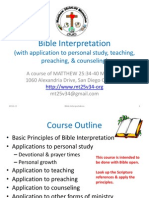 Bible Interpretation Course r3