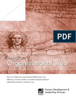 A Primer on Organizational Trust