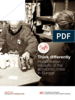 Think differently. Humanitarian impacts of the economic crisis in Europe
