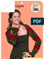 LT1540 Crochet Ripple Shrug