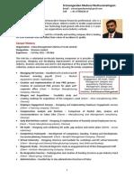 Srimanigandan Resume
