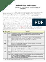 The New BS en ISO 90012008 Standard