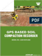 GPS Based Soil Compaction Recorder