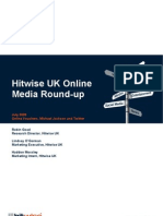 Hitwise UK Online Media Round-Up July 09
