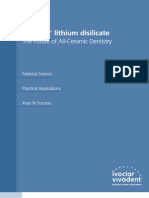 IPS e.max Lithium Disilicate Scientific Document