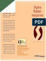 Sigma Rubber Ind. Brochure