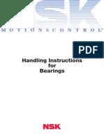 TNSK CAT E9010b Handling Instructions for Bearings