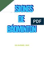 Trabajo de Badminton