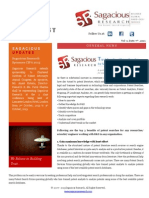 Sagacious Research Newsletter 7th Oct 2013