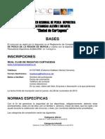 RCRC - III OPEN PESCA DEPORTIVA ALEVÍN E INFANTIL 2013 - BASES