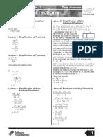 ta alg fractions