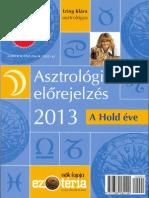 Izing Klara-Asztrologiai Elorejelzes 2013