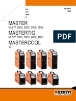Aparat de sudură Master MLS 2500