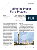 Selecting the Suitable Flare System