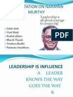 Narayan murthy as a leader.pptx