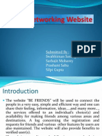 Social Networking Website PPT