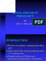 Renal Disease in Pregnancy