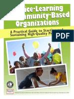 Service Learning Community Based Organizations