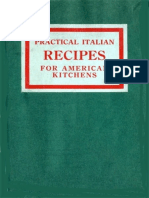 Practical Italian Recipes for the American Kitchen