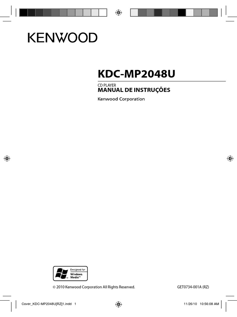 KENWOOD KDC-MP2048U CD PLAYER MANUAL DE INSTRUÇÕES.pdf