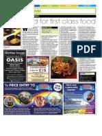 WRITING Railway Inn Food Review