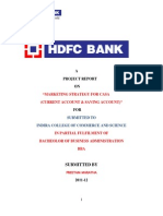 Project of Hdfc Report%281%29