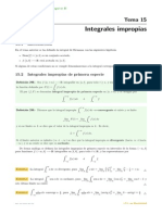integrales impropoias