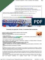 Casa Nationala de Asigurari de Sanatate - Ordonanta de Urgenta Nr. 158 Din 17 Noiembrie 2005-Actualiz