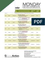 6548 MD Editorial Calendar 2009