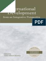 International Development from an Integrative Perspective