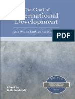 The Goal of International Development