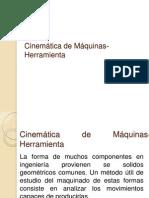 Cinemática de Máquinas-Herramienta