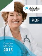 CATÁLOGO ADESLAS - TENERIFE