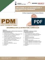 Dv38 Geoestadistica Aplicada a La Estimacion y Evaluacion de Yacimientos Mineros