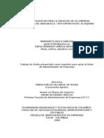 PLAN DE NEGOCIOS PARA LA CREACIÓN DE UN EMPRESA PRODUCTORA DE GRANADILLA  TIPO EXPORTACIÓN ZETAQUIRA