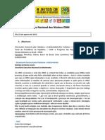 Relatorio Geral Do Encontro Nacional Dos Nucleos ODM[1]