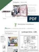 TFS Sustainable Landscapes - L500 Fertigation System