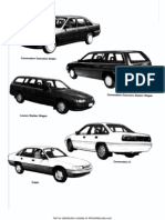 VN VP Commodore Calais Workshop Manual