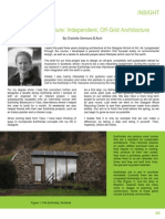 Earthship Biotecture Independent Off Grid Architecture 6pages