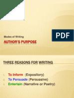 Hu Authors Purpose Lesson 1