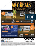 Oct Promo Sell Sheet and Rebate Form
