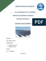Informe Centrales Solares Termicas Bien