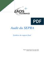Audit SEPRA Synthese Web