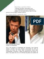 Las Infamias de Juan Manuel Santos vs GUSTAVO BOLIVAR- PASA LA VOZ